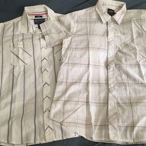 Men's button down shirts